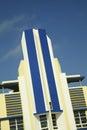 Historic Art Deco hotel in Miami's South Beach Royalty Free Stock Photo