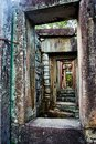 Historic building in Angkor wat Thom Cambodia