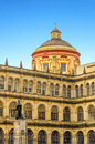 Historic building in bogota colombia on the plaza de bolivar the center of the city Royalty Free Stock Photo