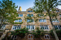 Historic building on the campus of Yale University, in New Haven Royalty Free Stock Photo