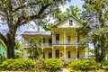 Historic building in the charpentier district of lake charles usa july downtown encases a twenty block area homes dating back to Royalty Free Stock Photo