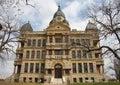 Denton County Courthouse Royalty Free Stock Photo