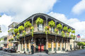 Historic building in the French Quarter Royalty Free Stock Photo
