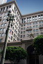 Historic building in Los Angeles, California Royalty Free Stock Photo