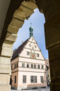 Historic building rothenburg franken Stock Photo