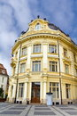 Historic building in Sibiu Royalty Free Stock Photos