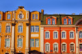 Historic buildings abainst a blue sky saint petersburg russia Royalty Free Stock Images