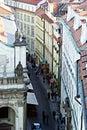 Prague buildings Royalty Free Stock Photo