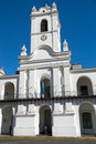 The historic cabildo in buenos aires at plaza de mayo argentina Royalty Free Stock Images