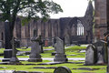 Historic Cemetery in Scotland Stock Photography