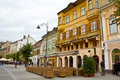 Historic center of Sibiu Royalty Free Stock Photography