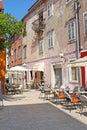 Historic center of Zadar, Croatia, Northern Dalmatia Royalty Free Stock Photo