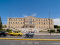 Historic centre of athens greece sep people visiting greek parliament building on sep in the building was erected between and as Stock Photos