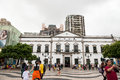 Historic centre of macao senado square june in china on june the was inscribed on the unesco Royalty Free Stock Photography