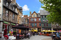 Historic centre of rennes france place sainte anne in this square is located in the northern part the Royalty Free Stock Photo