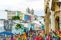 The historic centre of Salvador, Bahia, Brazil Royalty Free Stock Photo