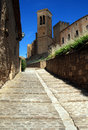 Historic city Artajona Royalty Free Stock Images