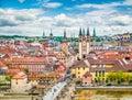 Historic city of Würzburg, Bavaria, Germany Royalty Free Stock Photo