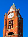 Historic clock tower, Port Townsend, Washington Royalty Free Stock Image
