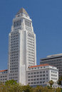 Historic County Courthouse building of Los Angeles, California. Royalty Free Stock Photo