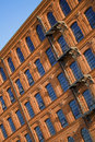Historic factory building style. Stock Photos