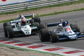 Historic formula 1 Royalty Free Stock Photo