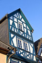 Historic half timbered houses in eltville germany october on october germany became town by the bavarian king Stock Image