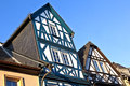 Historic half timbered houses in eltville germany october on october germany became town by the bavarian king Royalty Free Stock Photography