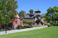 Historic Heritage Park Row in San Diego