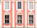 Historic house facade Stock Image