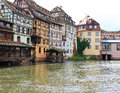 Historic houses in Strasbourg Stock Image