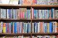 Historic library barter books read Stock Photo
