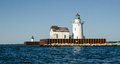 Historic lighthouse located in ohio this is cleveland s Royalty Free Stock Photo