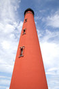 Historic Lighthouse on Ponce Inlet Royalty Free Stock Photo