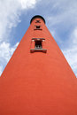 Historic Lighthouse on Ponce Inlet Stock Photo