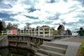 Historic Locks In Edam,Holland