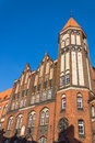 Historic main post office in gliwice silesia region poland built the beginning of th century the architectural style of Stock Photography