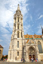 Historic Matthias' Church in Budapest Royalty Free Stock Images