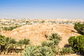 Historic and modern city of Jericho, Palestine Royalty Free Stock Photo