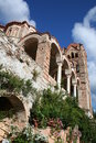Historic mystras Royalty Free Stock Images