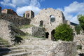 Historic mystras Stock Photo