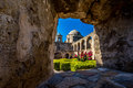 The Historic Old West Spanish Mission San Jose, Founded in 1720 Royalty Free Stock Photo