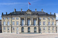 Historic palace in copenhagen denmark king christian vii amalienborg Stock Images