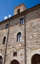 Historic Palace. Montefalco. Umbria. Royalty Free Stock Photo