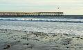 Historic Pier, Ventura, California Royalty Free Stock Photo
