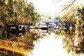 Historic Port of Echuca Royalty Free Stock Photo