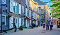 Historic Properties, Halifax Nova Scotia, Canada Royalty Free Stock Photo