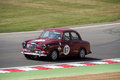 Historic race car brands hatch series event pre sports gt and touring cars masters racing Royalty Free Stock Images