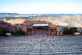 Historic red rocks amphitheater near denver colorado Royalty Free Stock Photo