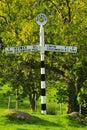 Historic Roadsign, Cumbria